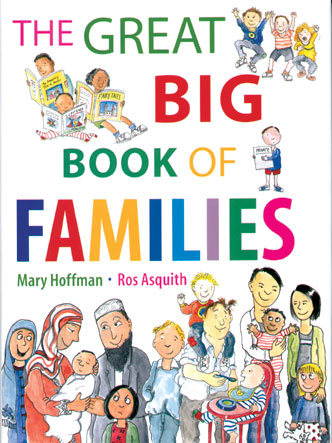 Cover Image of The Great Big Book of Families By Mary Hoffman